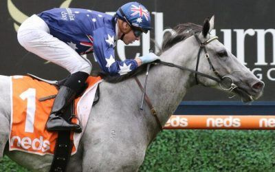 Blazejowski sets Caulfield alight on Australia Day