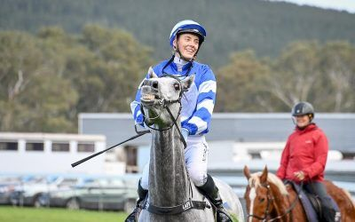 Laughs all round after Valentine's winning comeback