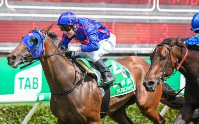 Krone makes it 3 straight at Magic Millions for Roll the Dice Racing