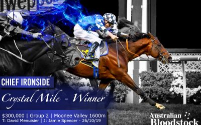 Chief Ironside prevails in Crystal Mile thriller