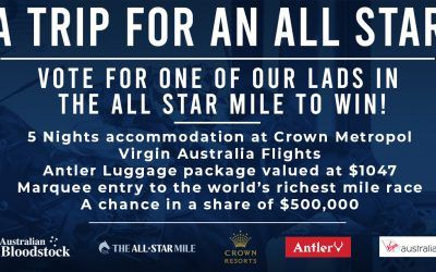 Win the ultimate All Star Mile experience!