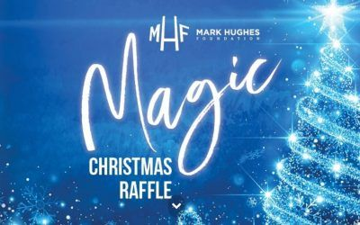 Mark Hughes Foundation magic Christmas raffle!