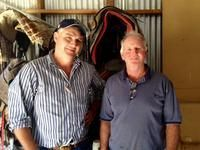 GARY WELLS & HORSE 360 VISIT