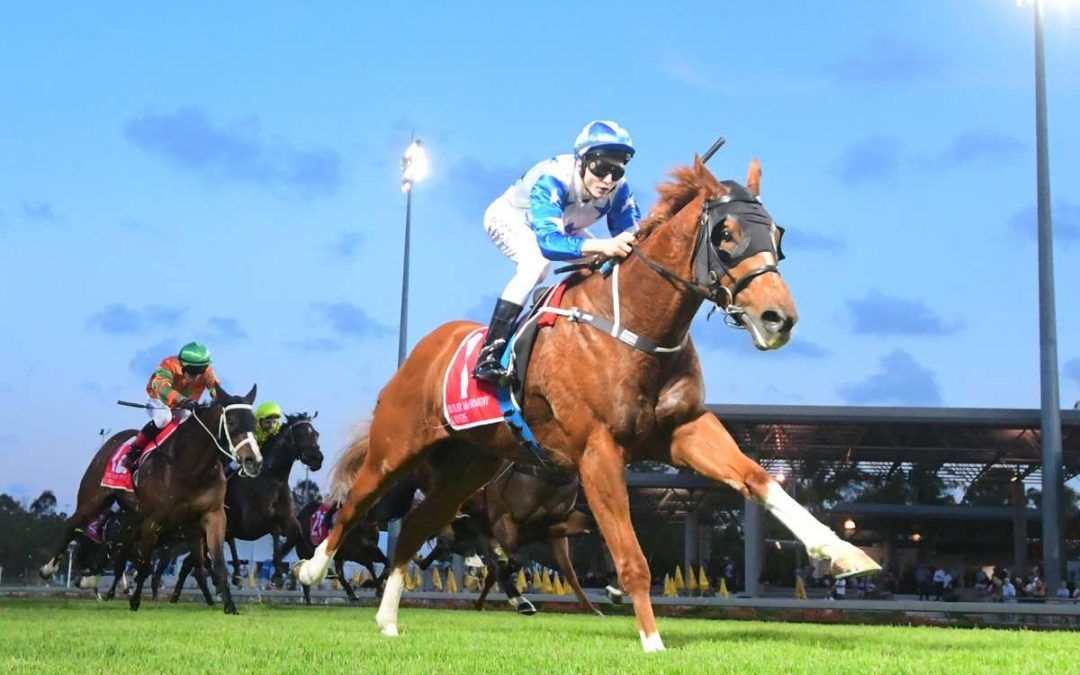 THEREANDBACK MAKES IT THREE STRAIGHT WINS FOR STABLE