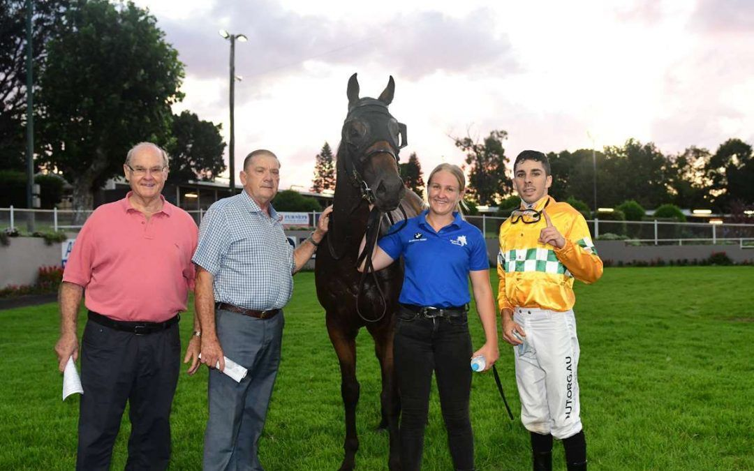 CHRISTMAS CREEK BREAKS MAIDEN AT TOOWOOMBA
