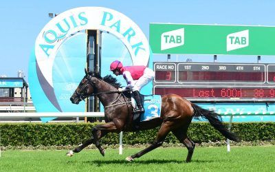 THRASHER OUTSTAYS HER RIVALS TO LAND FIRST WIN