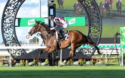 STAMPE STORMS TO VICTORY AT EAGLE FARM