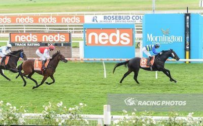 Beachgoer breaks through at Mornington