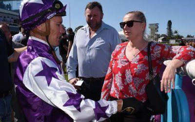 Natalie McCall transforms tough horse to debut winner