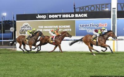 Fast Cash in the money at Moonee Valley