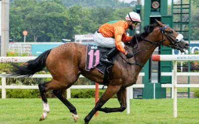 Charmed run continues for Kharisma even at Kranji Stakes A
