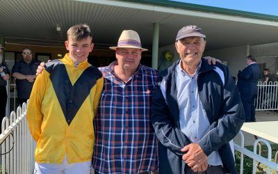 Frenchie Blanches Her Mudgee Rivals